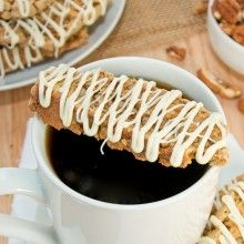 Pumpkin Pie Biscotti {Sweet Pea's Kitchen}