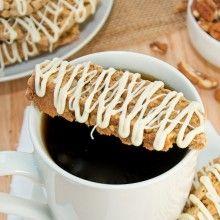 Pumpkin Pie Biscotti {Sweet Pea's Kitchen}