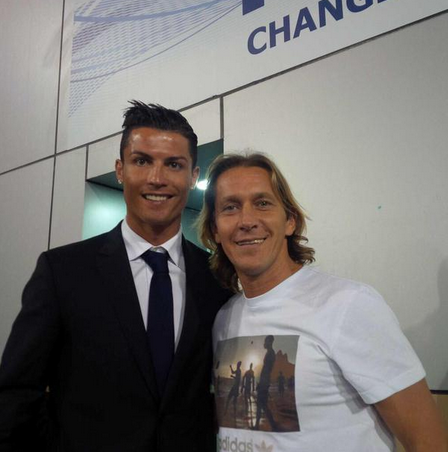 Resultado de imagen de Michael Salgado Cristiano Ronaldo