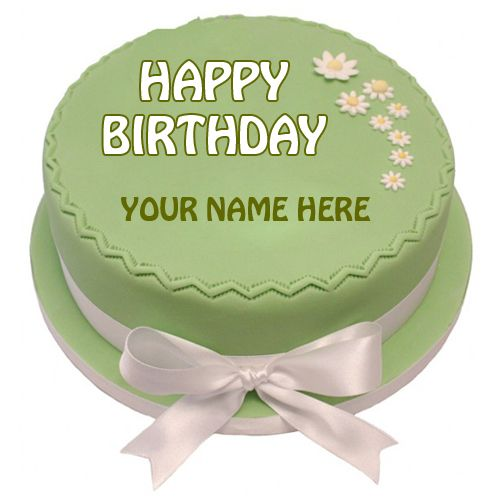 Create Name Birthday Cake For Whatsapp Profile Picture Round Cake