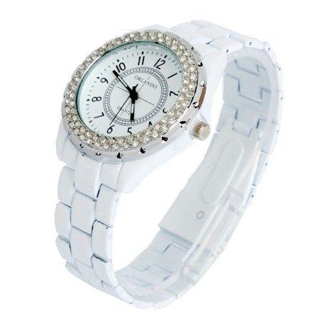 Orlando Quartz Crystal Watch - Gorgeous simplicity  Now 75