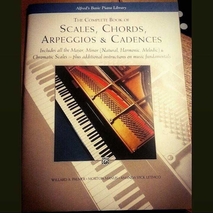 Fun times  #scales #chords #arpegios #cadences #piano #pianoscales #pianochords #pianoscore #sheetmusic #classical #classicalmusic #music by bananagirl_danielle