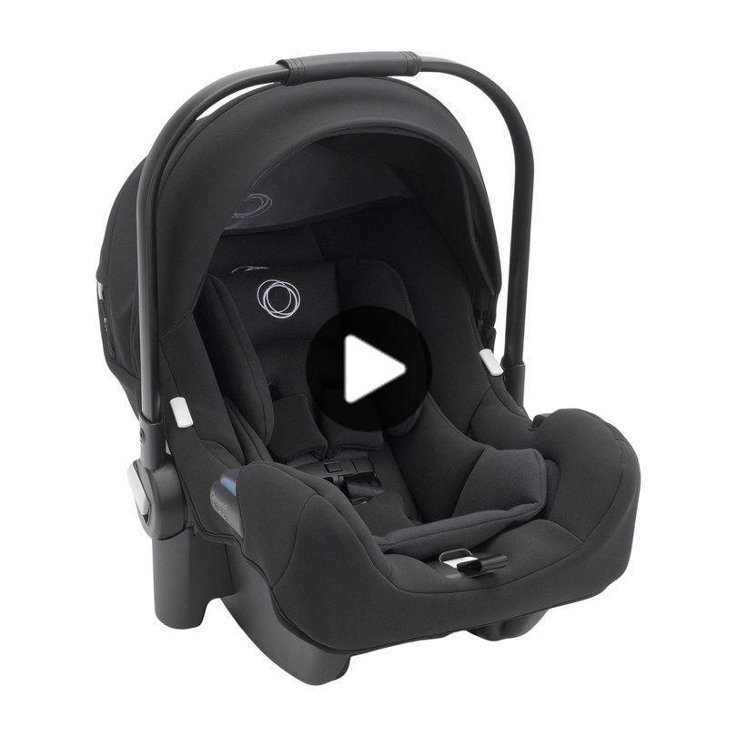Bugaboo Turtle by Nuna Car Seat + Base Black - Gear Car Seats - Maison