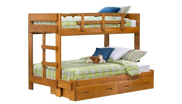 slumberland furniture tanglewood collection honey tf on Slumberland Bunk Beds id=78059