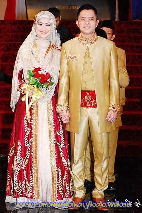 Baju Pengantin Muslimah Modern Terbaru 18 Weddings Pinterest