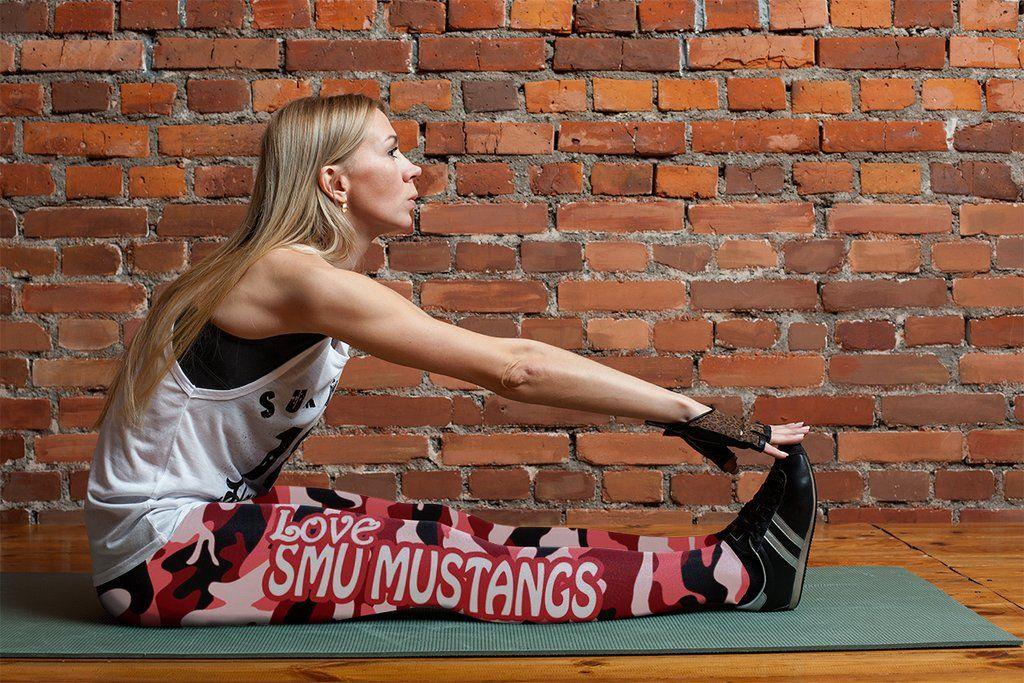 df786e4e Camo Sporty Trending Fashion Fabulous SMU Mustangs Leggings | SMU ...