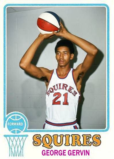 George Gervin Virginia Squires | George gervin, Sports basketball, Nba  basketball art