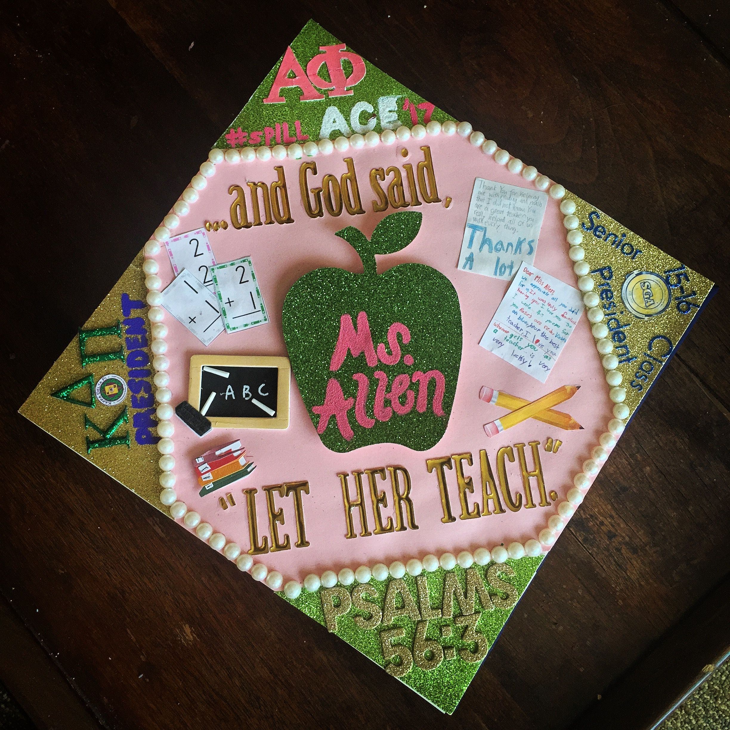 Aka Alphakappaalpha Graduate Capdecoration Teachers