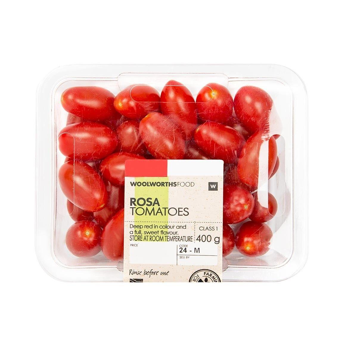 Rosa Tomatoes 400g Food Woolworths Food Tomato