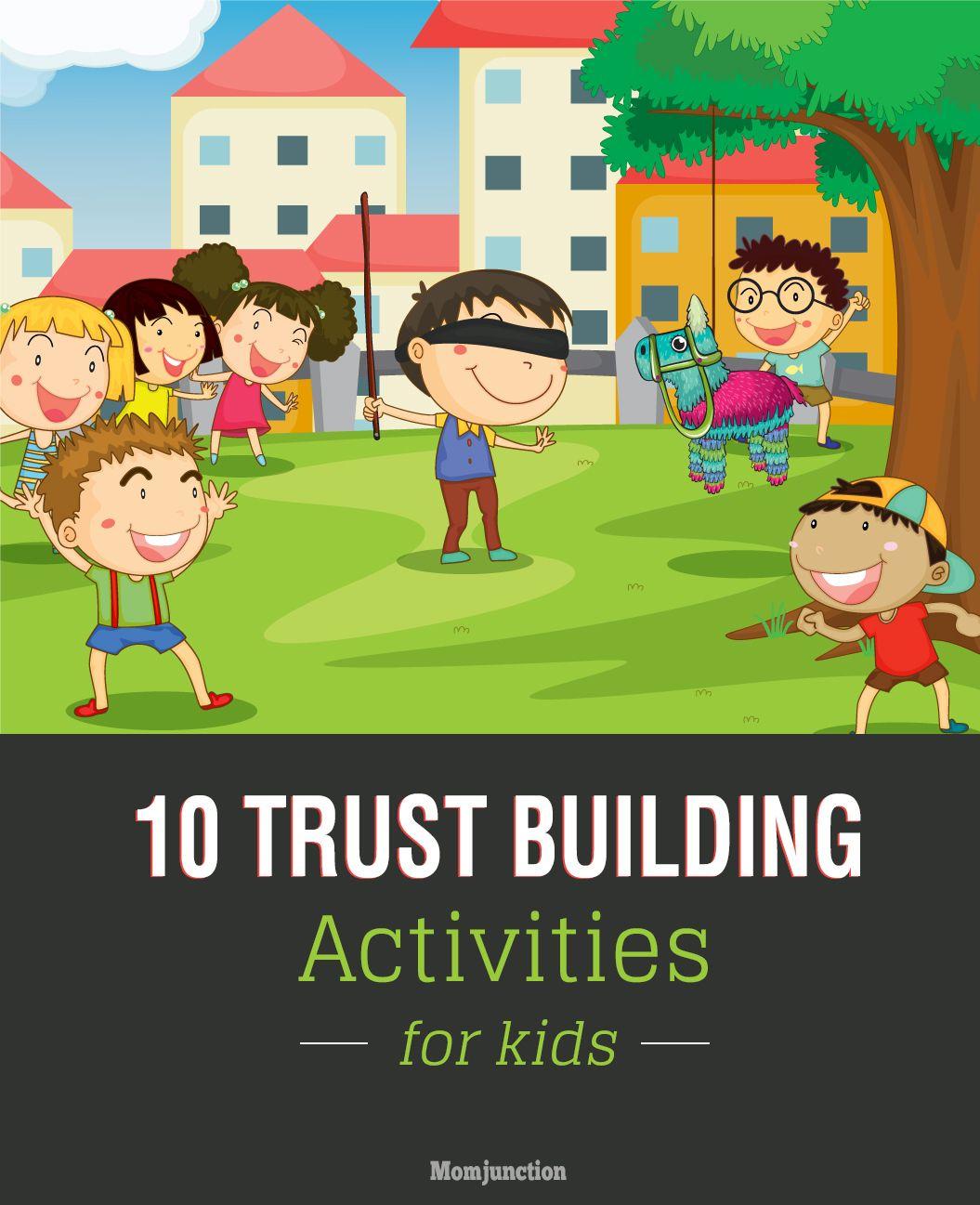 Fun Trust Building Activities For Kids