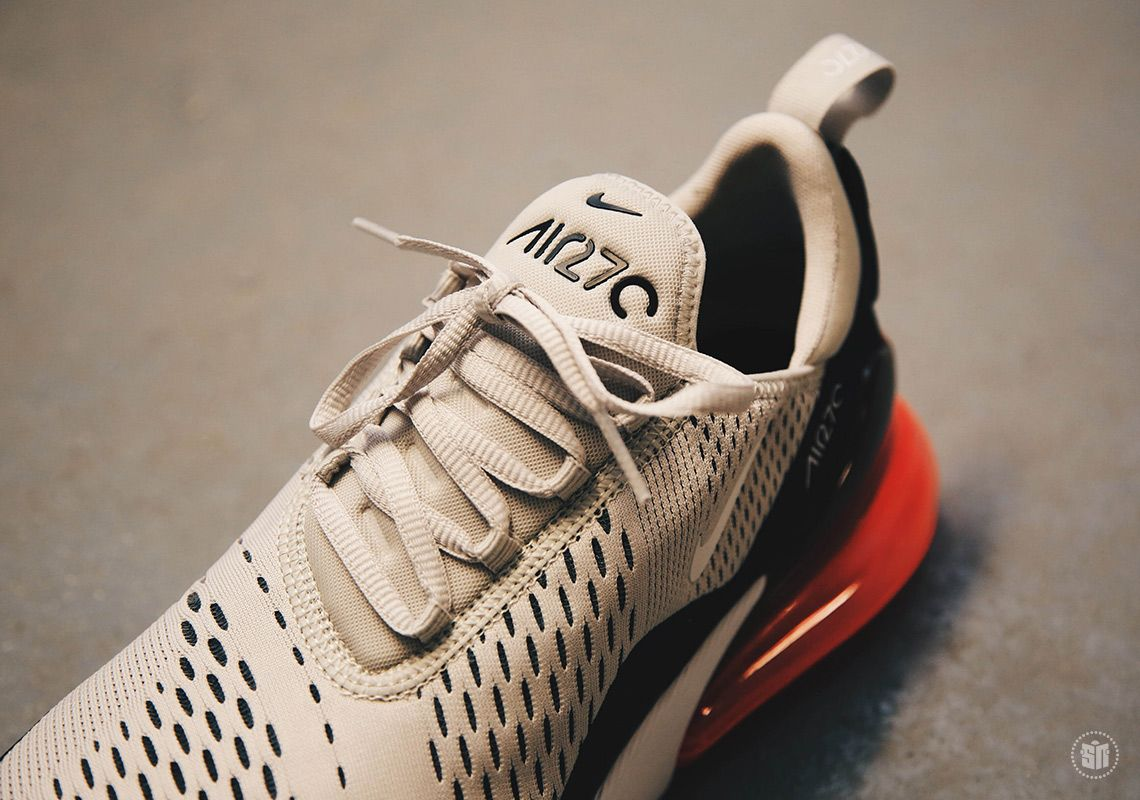 Nike Air Max 270 Light Bone Hot Punch AH8050-003 | SneakerNews.com