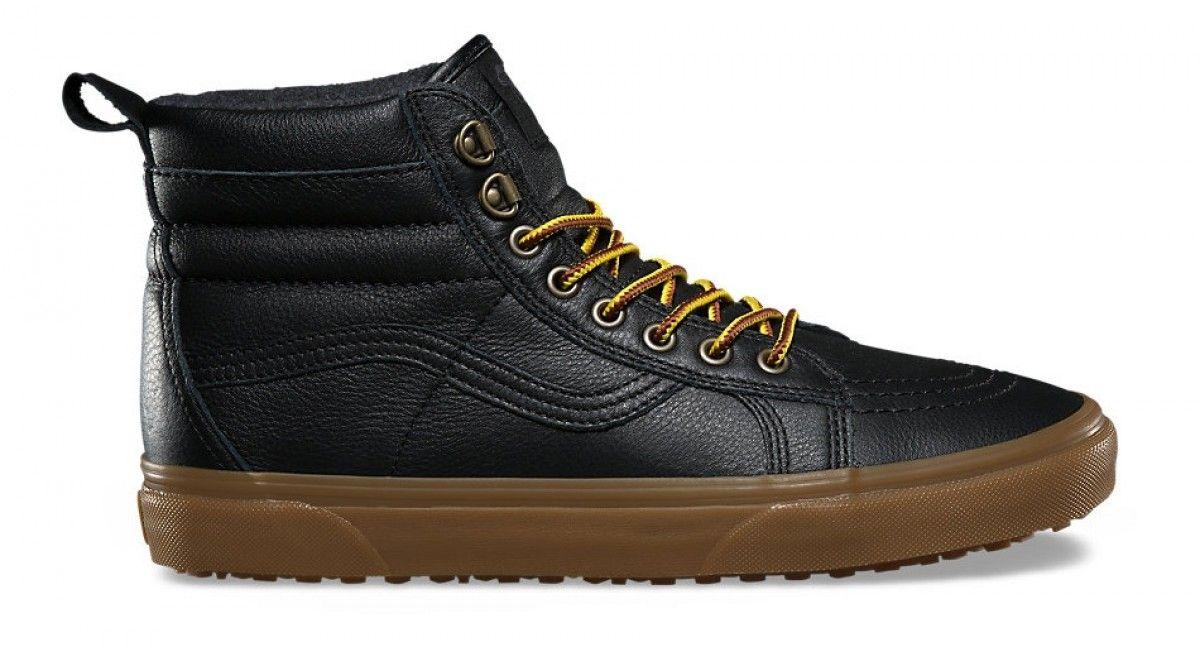 Vans SK8-Hi MTE Black/Leather/Gum