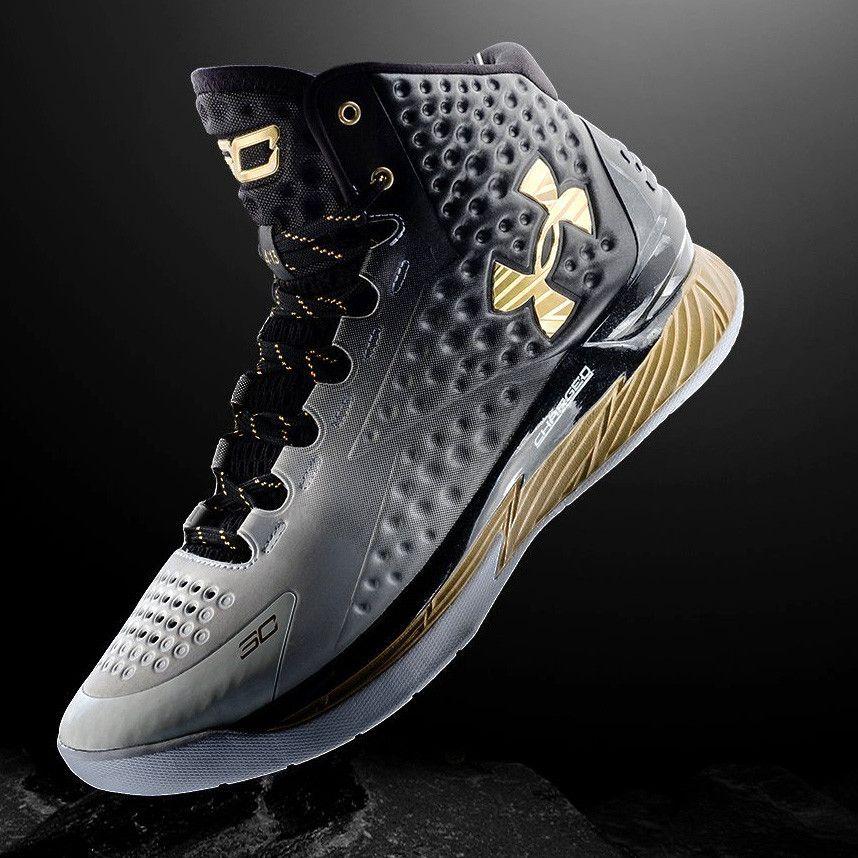Buy Cheap UA Curry One MVP Black Gold