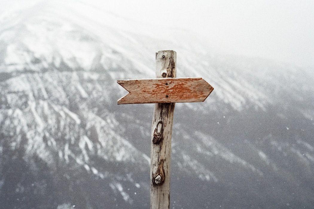 arrow sign on mountain Divorce, Separation, divorce, How