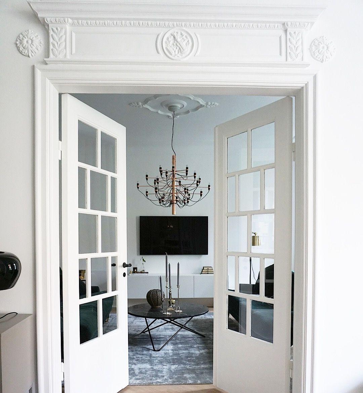 kitchen #marble #marmor #kvik #svart #kök #fiskbensparkett ...