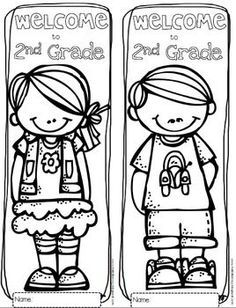 free welcome to any grade pre k through 6th grade coloring sheets - Coloring Pages School 2