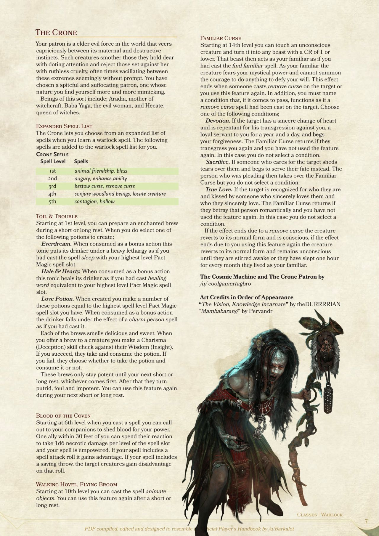DnD 5e Homebrew | Contracts / Bindings in 2019 | Warlock dnd
