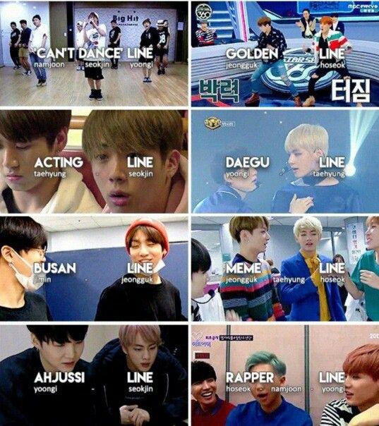 BTS lines continuation ^^ | BTS in 2019 | Bts, Bts memes, Bts boys