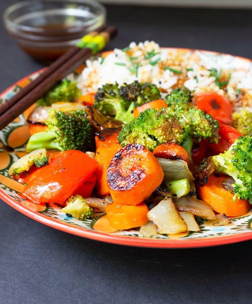 Easy Vegetable Stir Fry Sauce #vegetablestirfry