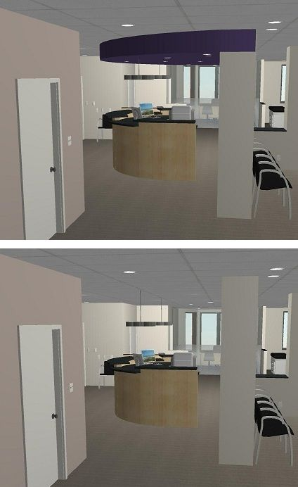 Commercial Lobby Detail Synergy Design Construction