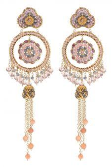 High Desert Sage Gemstone Drop Earrings