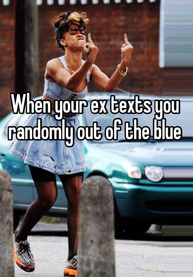 when your ex texts you meme