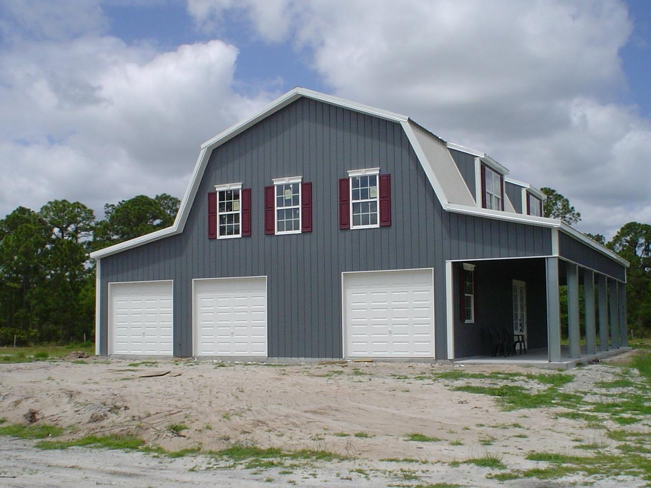 Gambrel Steel Buildings For Sale Ameribuilt Steel Structures Steel Buildings Metal Building Homes Metal Buildings