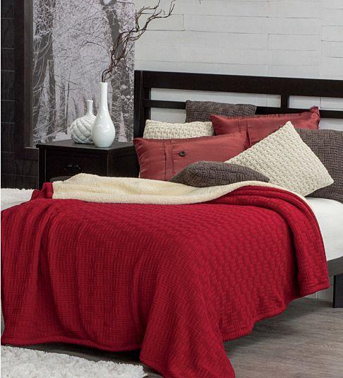 Edredon Nordico Rojo.Un Toque De Color Rojo Para Tu Cuarto Cobertor Nordico Rojo