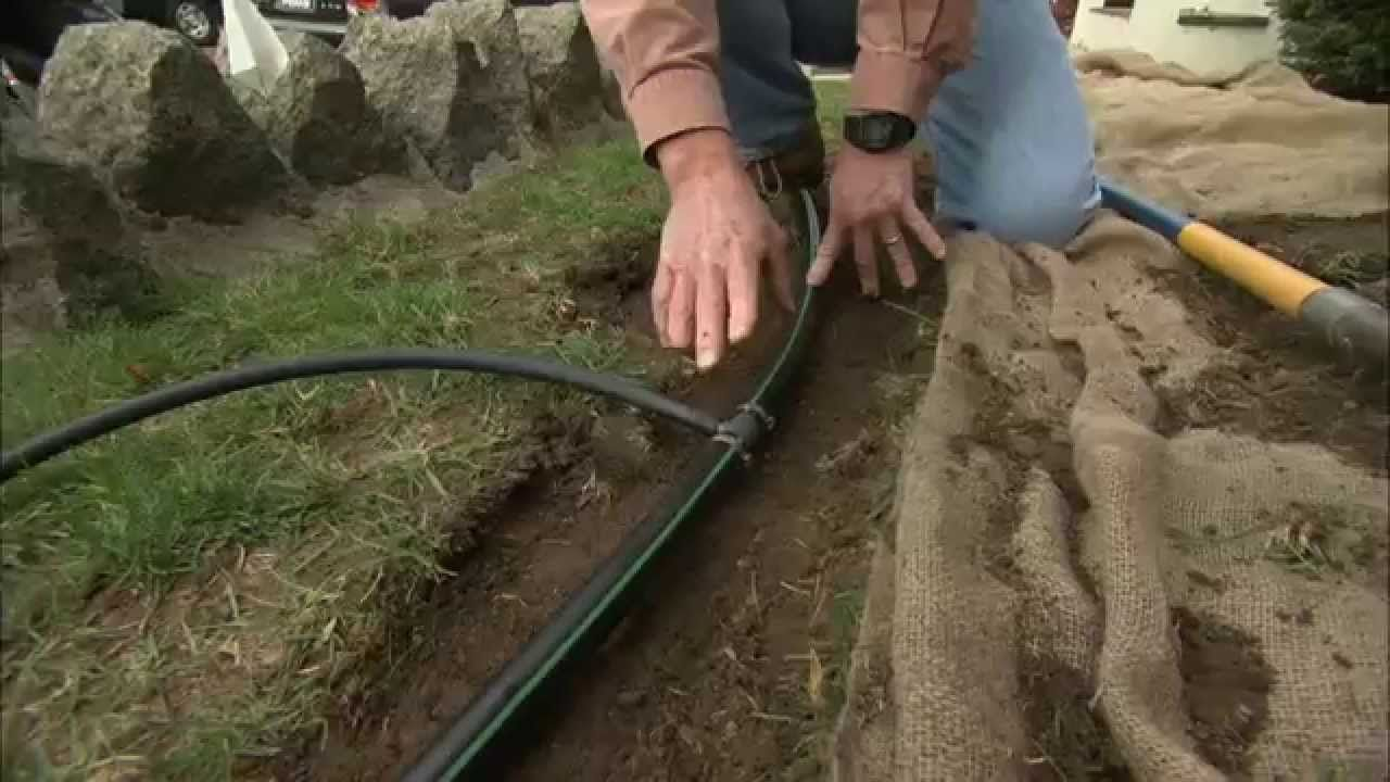 How to install inground sprinklers this old house