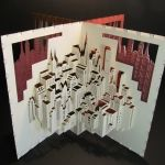 Paper Cities --- paper cut out art