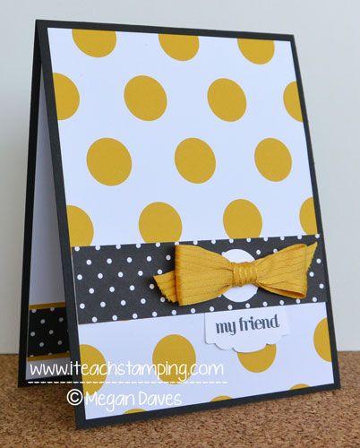 Mão simples Idea Cartão Feito - Idéias Paper Craft