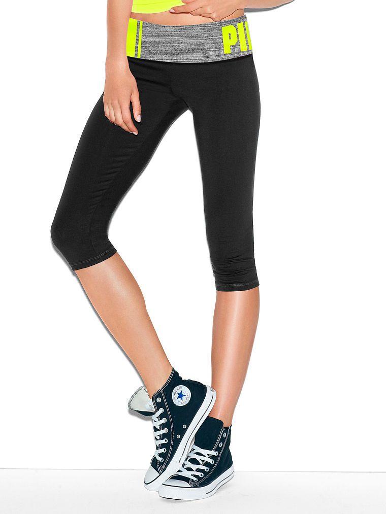 999d9706d5 Yoga Crop Legging - PINK - Victoria's Secret | Look Good, Feel Good ...
