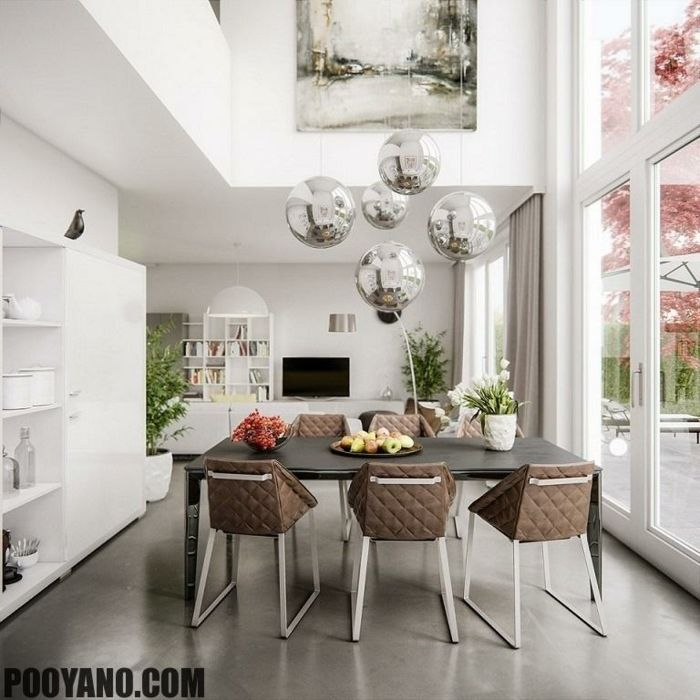 1001 ideas para decoracion de comedores en diferentes for Comedores de vidrio