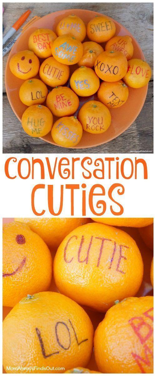 Conversation Cuties Fruit Kid Friendly Valentine S Day