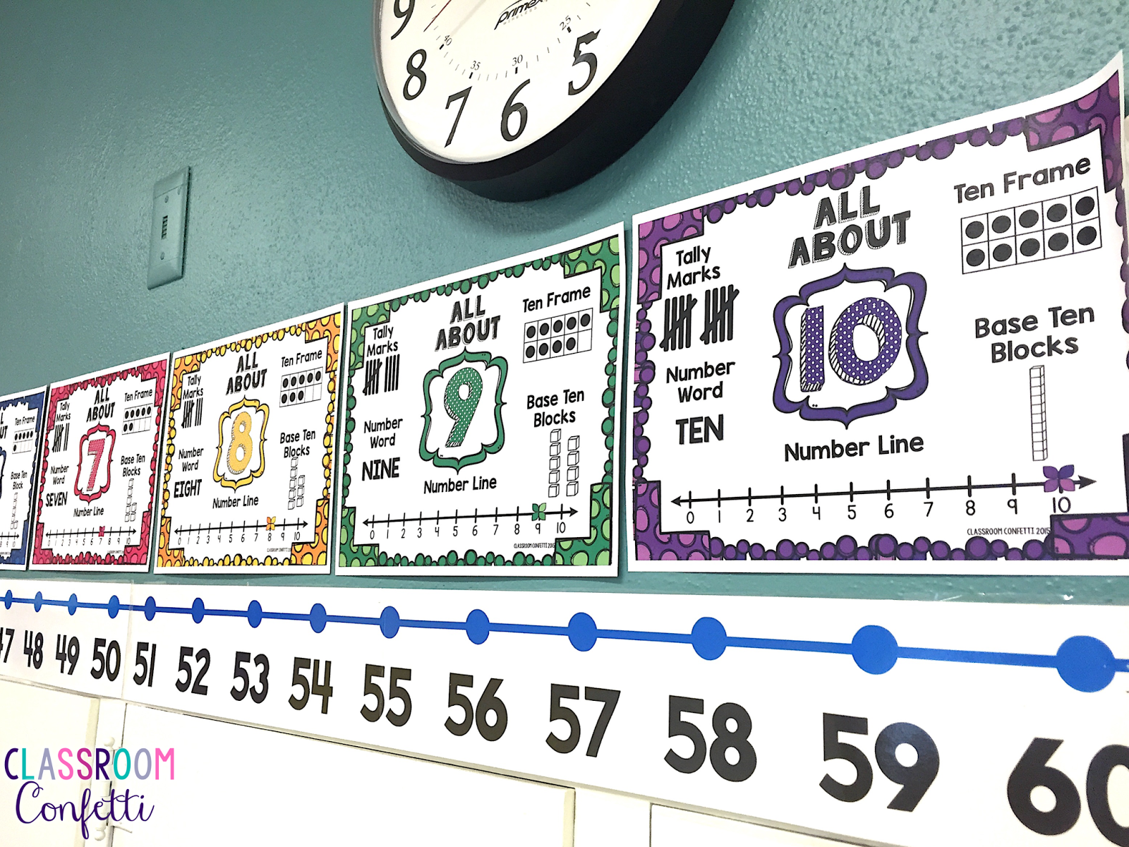 Colorful Mathematics Posters Free Sketch - Math Worksheets Ideas ...