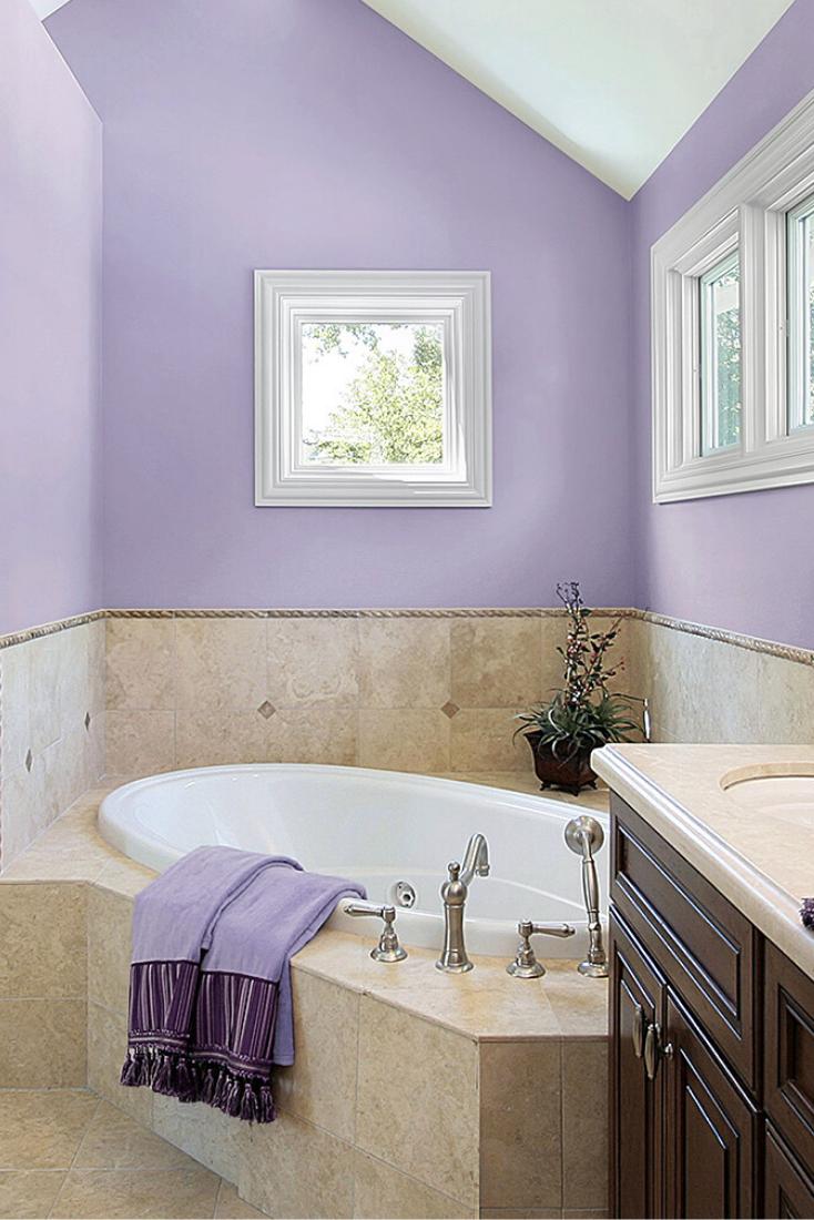 20 Beautiful Purple Bathroom Pictures Ideas