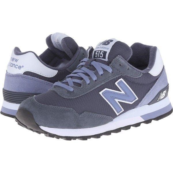Womens Shoes New Balance Classics WL515 Grey/Lavender Suede/Mesh