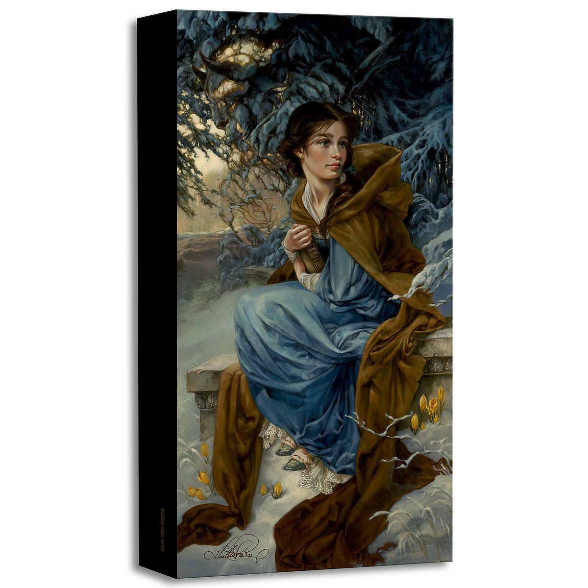 "Disney Fine Art Heather Edwards /""Her Father/'s Daughter/"" Limited Edition Canvas"