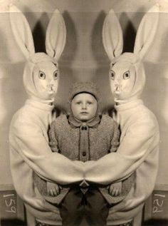 Creepy And Disturbing Easter Photos