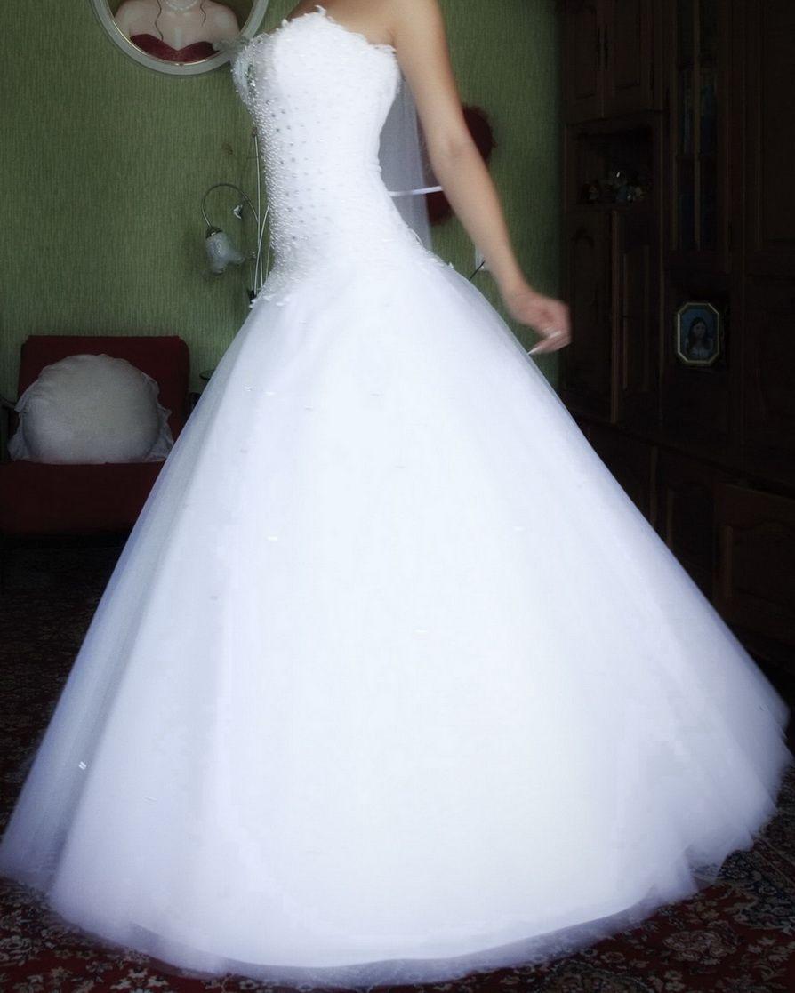 Сонник белое платье пышное