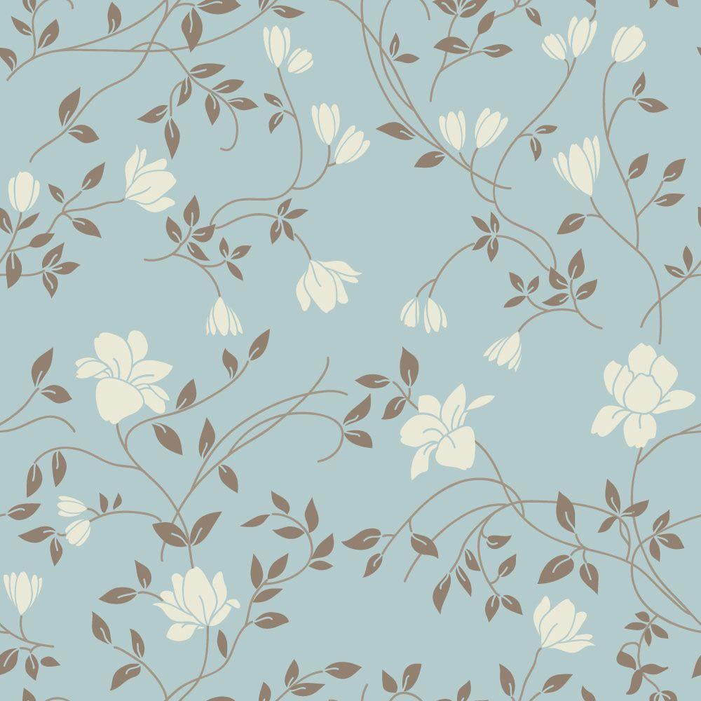 Papel De Parede Floral 1151 Decoupage Oldal Minta Pinterest  ~ Papel De Parede Lavavel Para Quarto