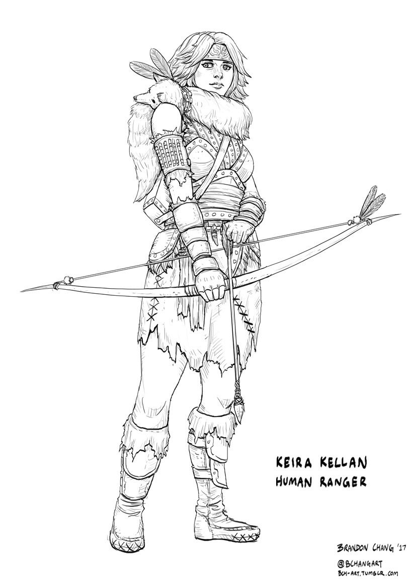 Character lineart done for Cawood Publishing's World of