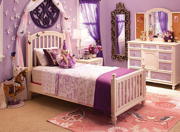 Royal Purple Raymour And Flanigan Bliss Room Kids Bedroom Home Decor Kids Room