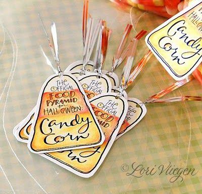 Candy Corn tag