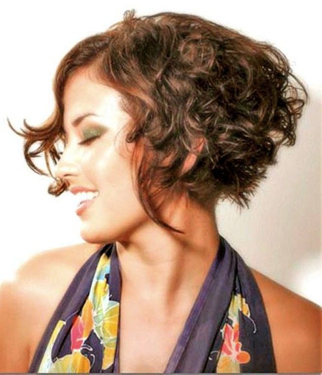 Sensational 1000 Images About Thick Curly Bob Hairstyles Ideas On Pinterest Hairstyles For Men Maxibearus