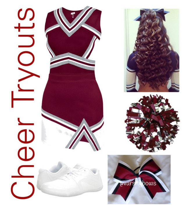 """""""Cheer tryouts🎀"""" by nevaeh136 ❤ liked on Polyvore featuring Chassè and NIKE"""