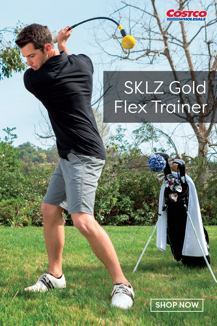 Sklz Gold Flex Trainer With Pro Rods Alignment Set In 2020 Swing Trainer Flex Family Fitness