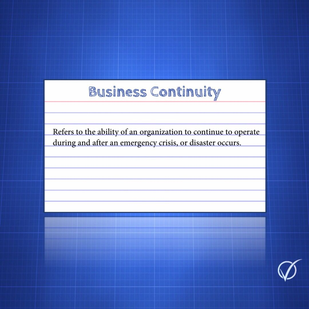 CMP Business Continuity Business continuity, How to