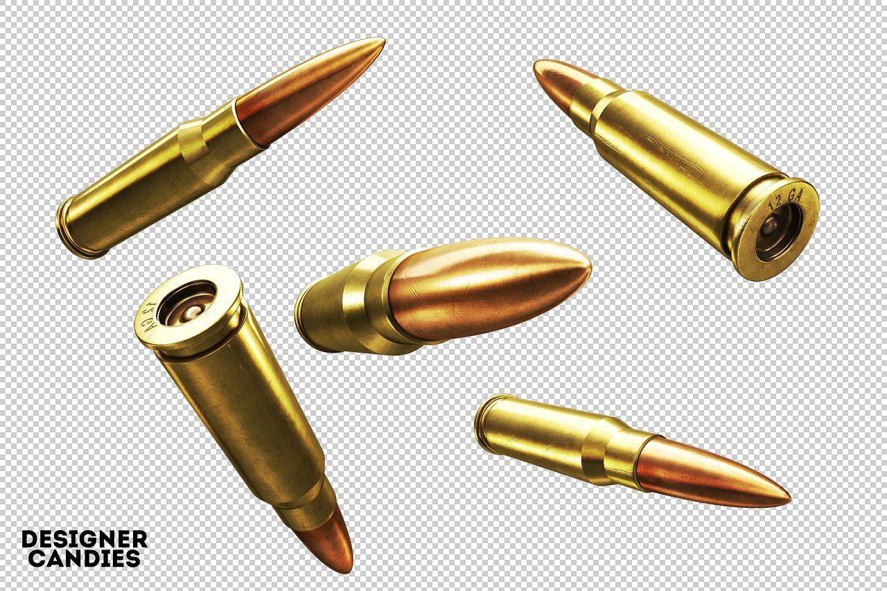 3d Bullet Renders Pack Png Bullets Pack Transparent Bullet Tattoo Bullet Drawing Guns Illustration