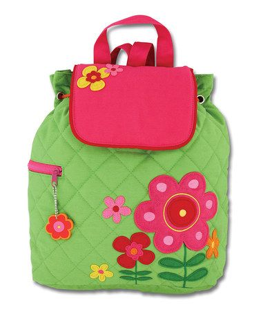 e3f228e24759 Love this Flower Quilted Backpack by Stephen Joseph on #zulily ...